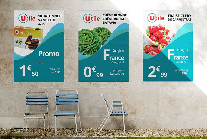 affiche magasin utile